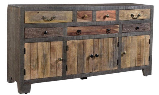 Woodland Natural Mango Sideboard