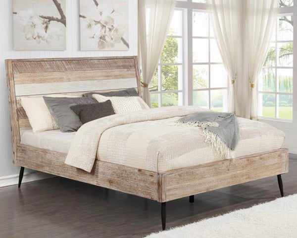Rough Sawn Queen Bed