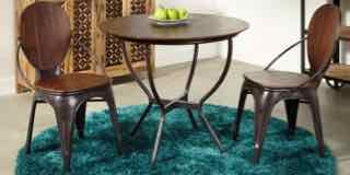 Round Sheesham Dining Table