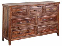 Sonora 7 Drawer Dresser