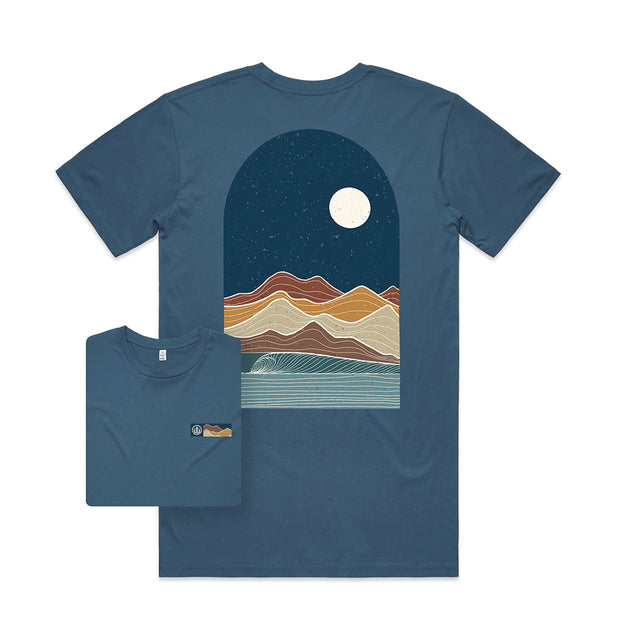 Arch Wave T-shirt / Back Print