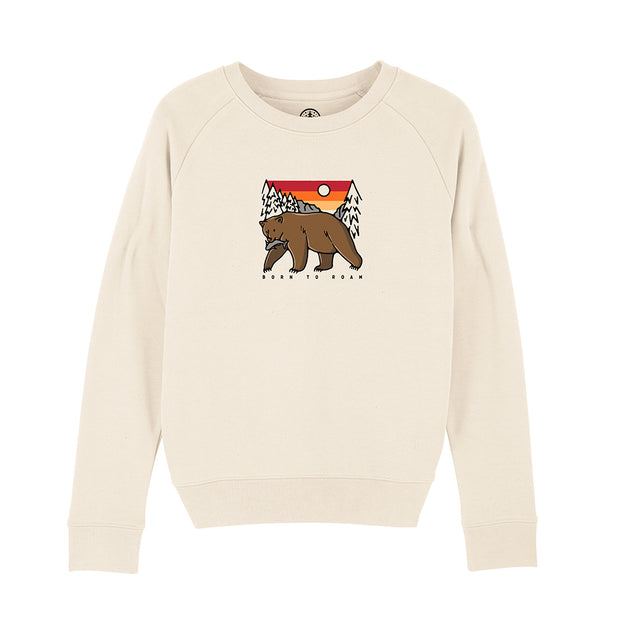 Women's Born to Roam Sweatshirt / Front Print
