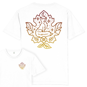 Fox Leaf T-shirt / Back Print