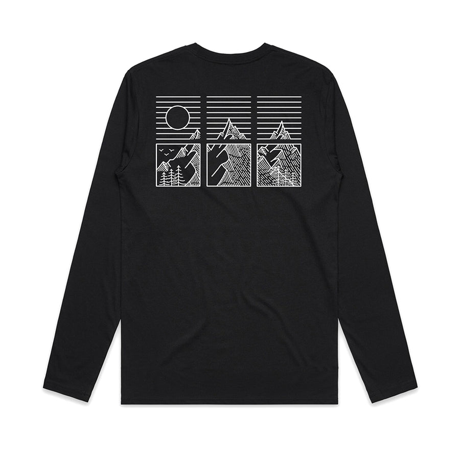 High Peaks Long Sleeve / Back Print