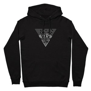 Escape the Mountains Hoodie / Front Print