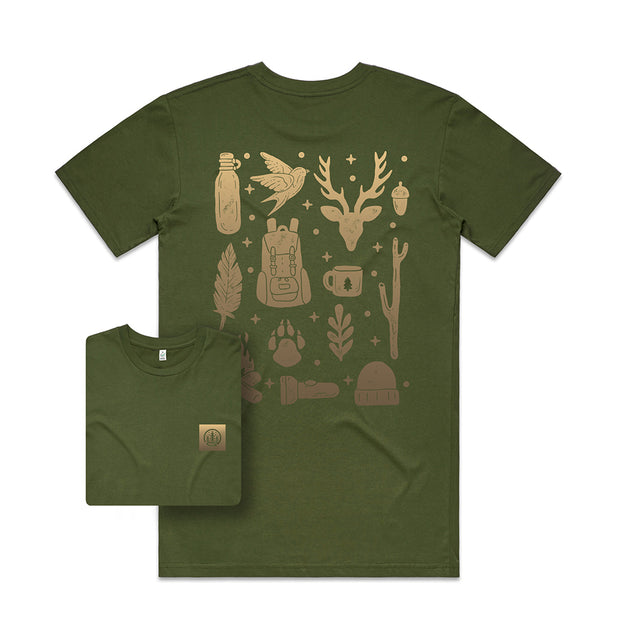 Into the Wild T-shirt / Back Print