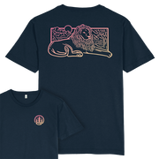 Lion Scene T-shirt / Back Print