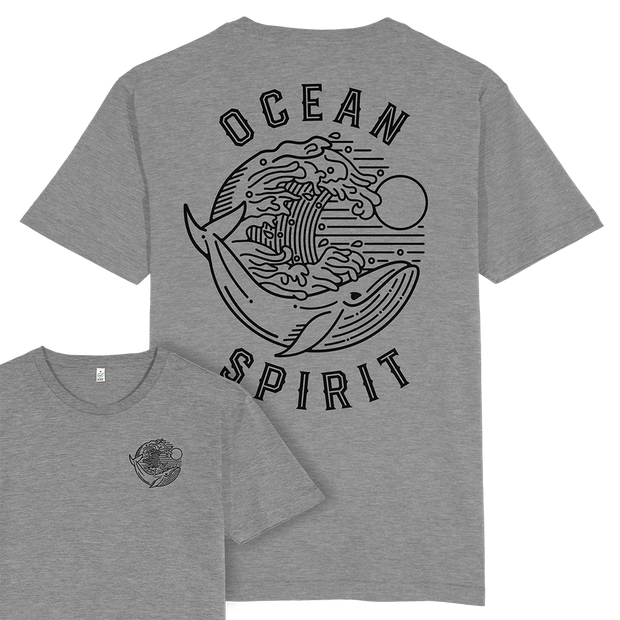 Ocean Spirit T-shirt / Back Print
