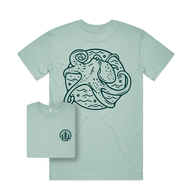 Octopus T-shirt / Back Print