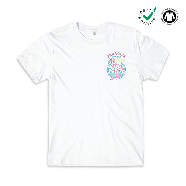 Paradise Hunter T-shirt / Pocket Print