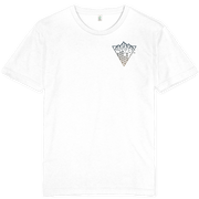 Triangle Mountain T-shirt / Pocket Print