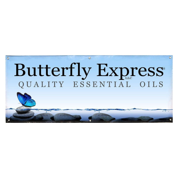 Butterfly Express Vinyl Banner Wholesale