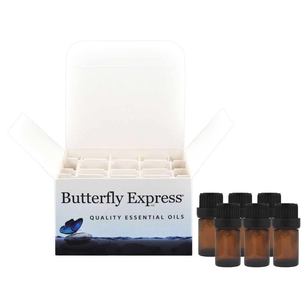 Amber Oil 5ml or 10ml Bottles Pack