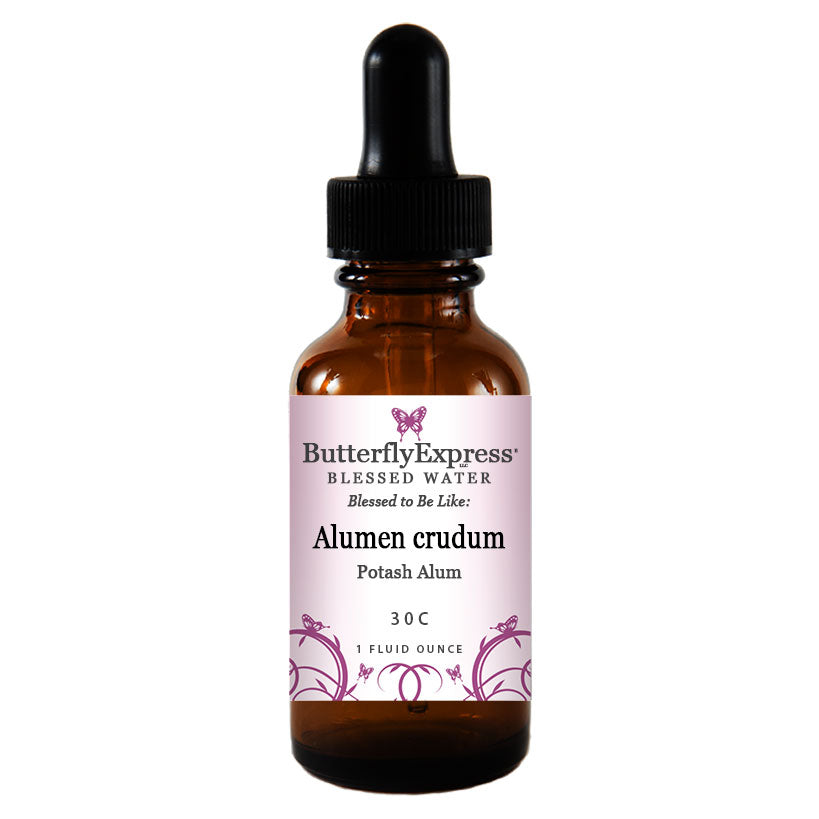 Alumen crudum Blessed Water