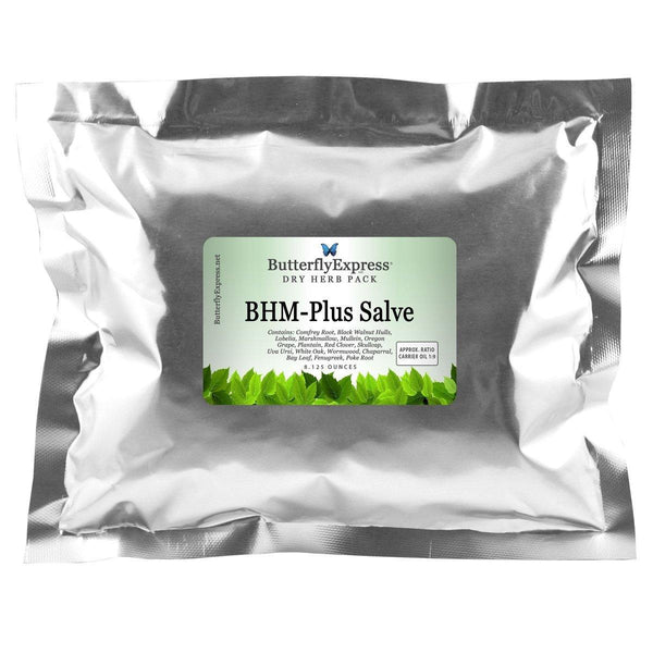 BHM Plus Salve Dry Herb Pack