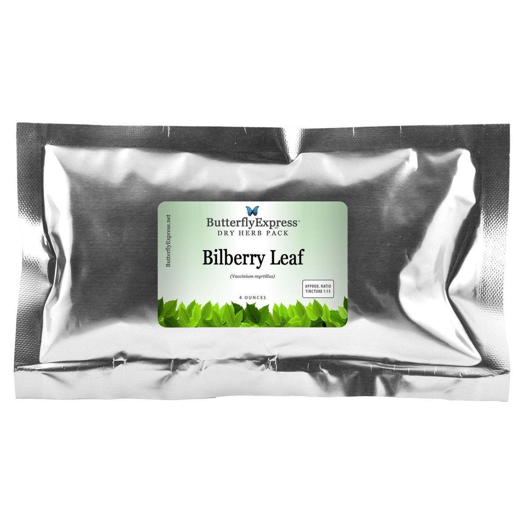 Bilberry Leaf Dry Herb Pack