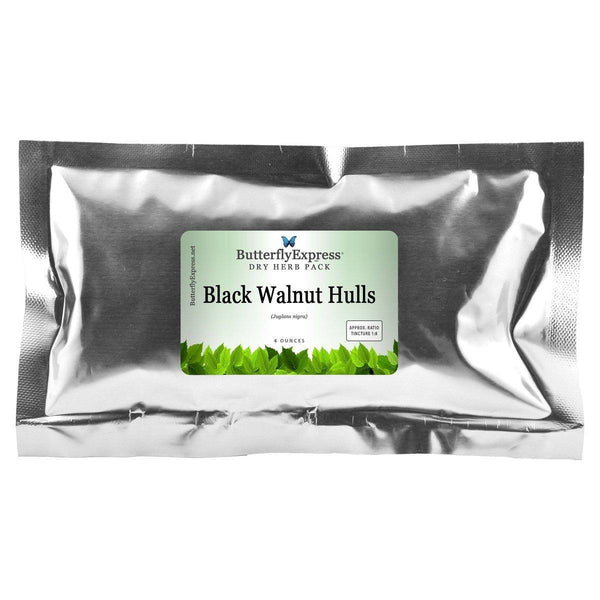 Black Walnut Hulls Dry Herb Pack