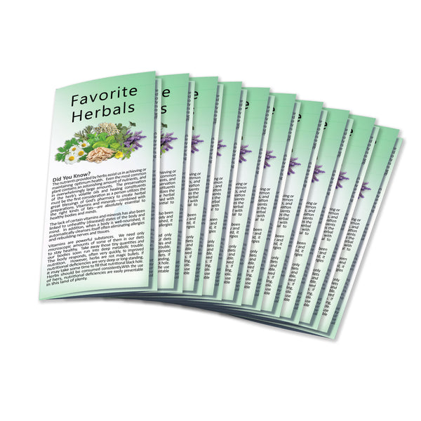 Liquid Mineral Brochure (10/pk) Wholesale