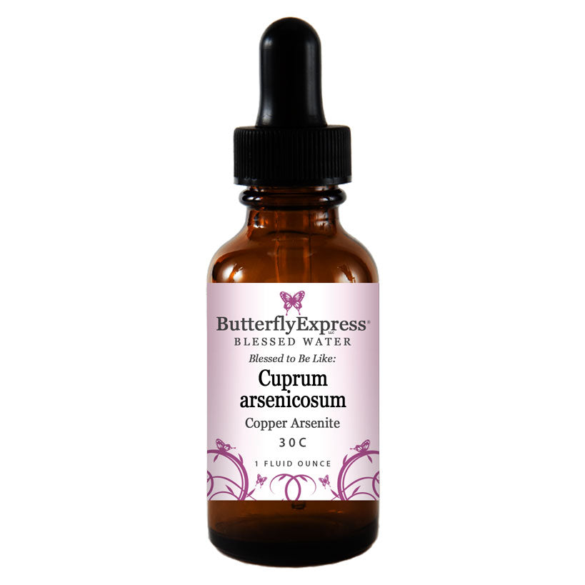 Cuprum arsenicosum Blessed Water