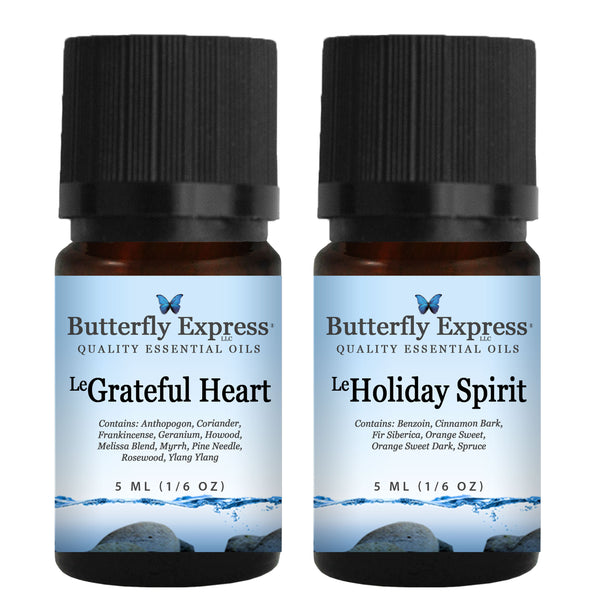 Grateful Heart-Holiday Spirit 5ml Gift Bag