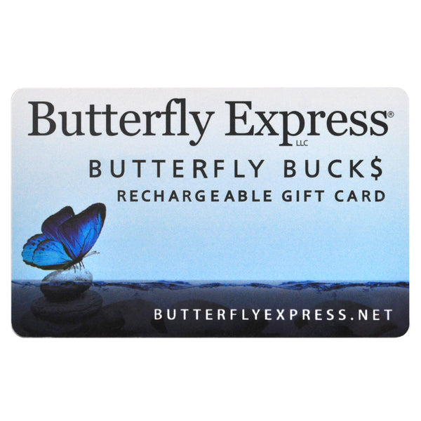 Butterfly Express Gift Card
