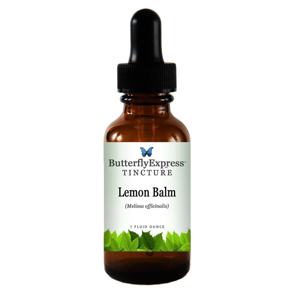 Lemon Balm Tincture<h6>Melissa officinalis</h6>