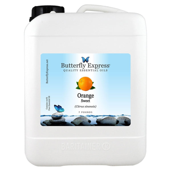 Orange Sweet Essential Oil Gallon<h6>Citrus sinensis</h6>