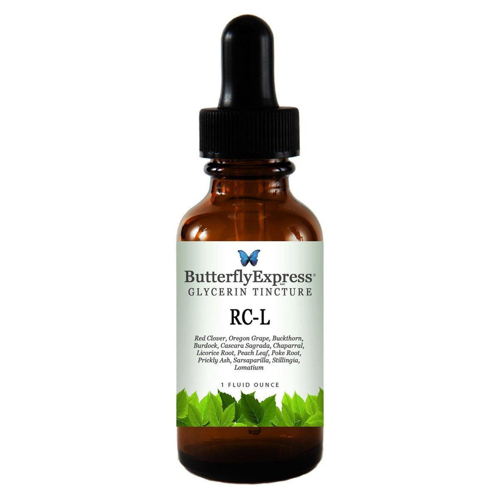 RC-L Glycerin<h6>(Formerly Red Clover Combination with Lomatium)</h6>