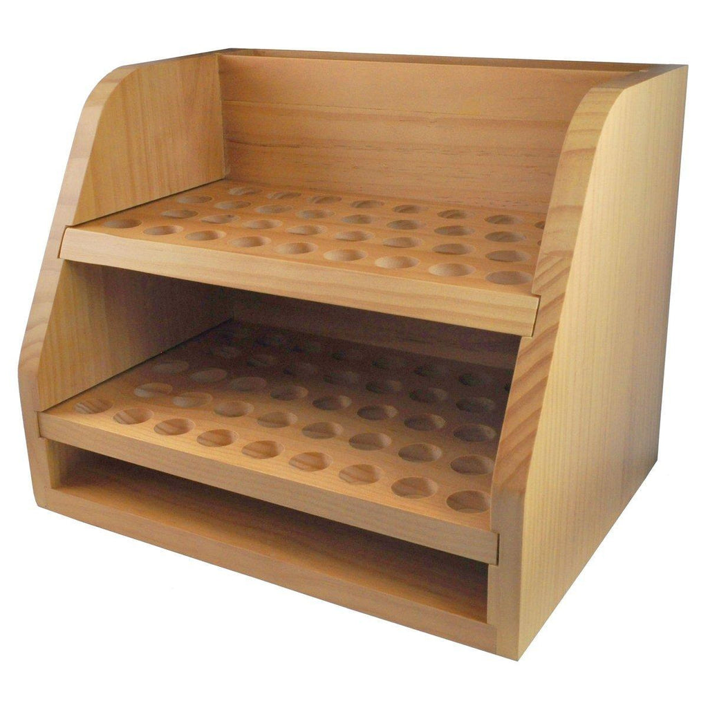 Wooden Display Rack (Holds 77)