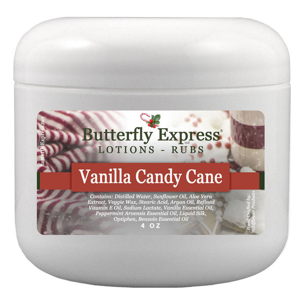 Vanilla Candy Cane Lotion