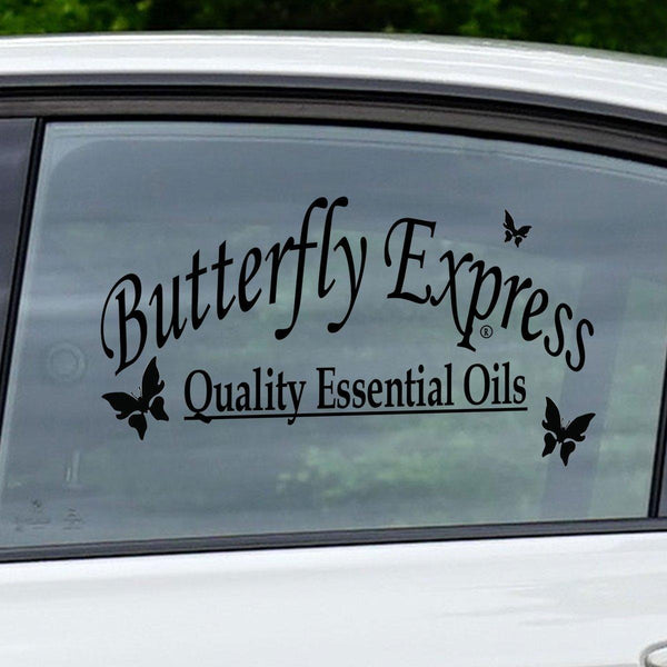 Butterfly Express Window Decal