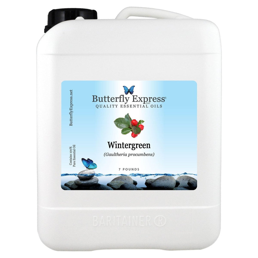 Wintergreen Essential Oil Gallon<h6>Gaultheria procumbens</h6>