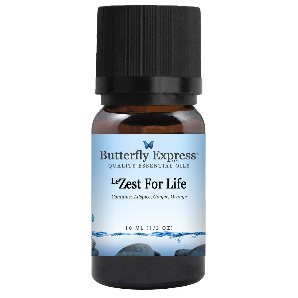 <sup>Le</sup>Zest For Life Essential Oil