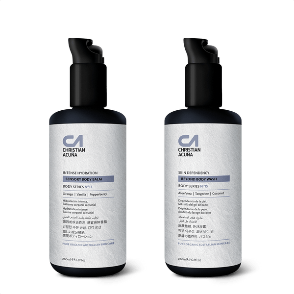 Essential body kit. Hydrate and Wash - Christian Acuña Skincare