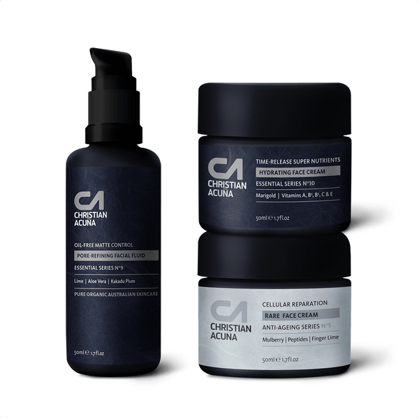 Moisturiser collection - Christian Acuña Skincare