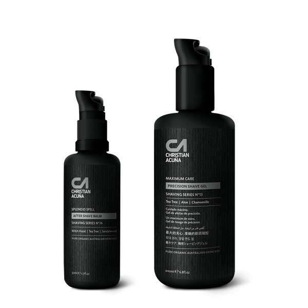 Shaving Gel & Aftershave Gift Set | Christian Acuña