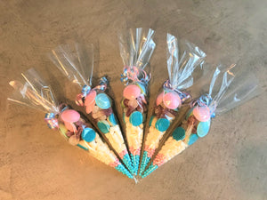 Pink & Blue Sweetie Cone