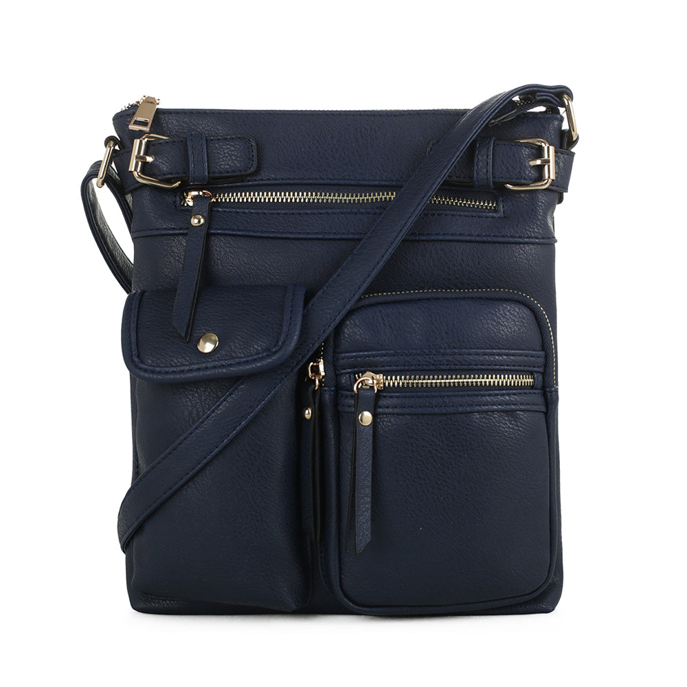 Katie Multi Pocket Crossbody Bag