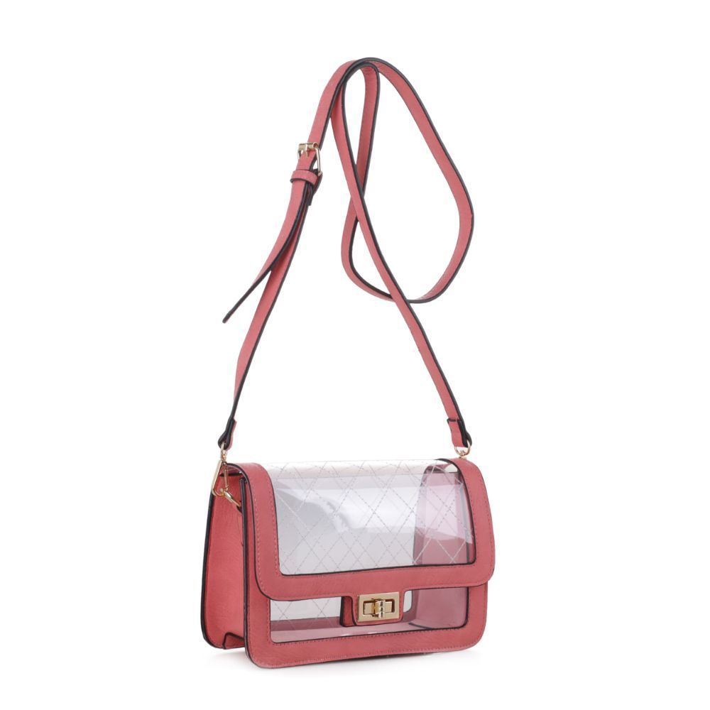 Charlotte Clear Crossbody Bag