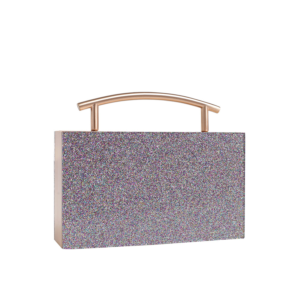 Cosmic Top Handle Clutch