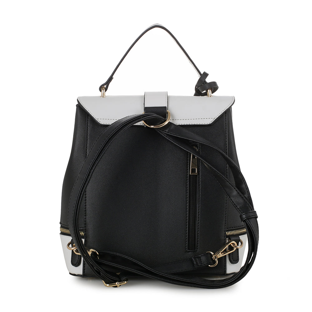 Callie ColorBlock Structured Backpack with Matching Wristlet