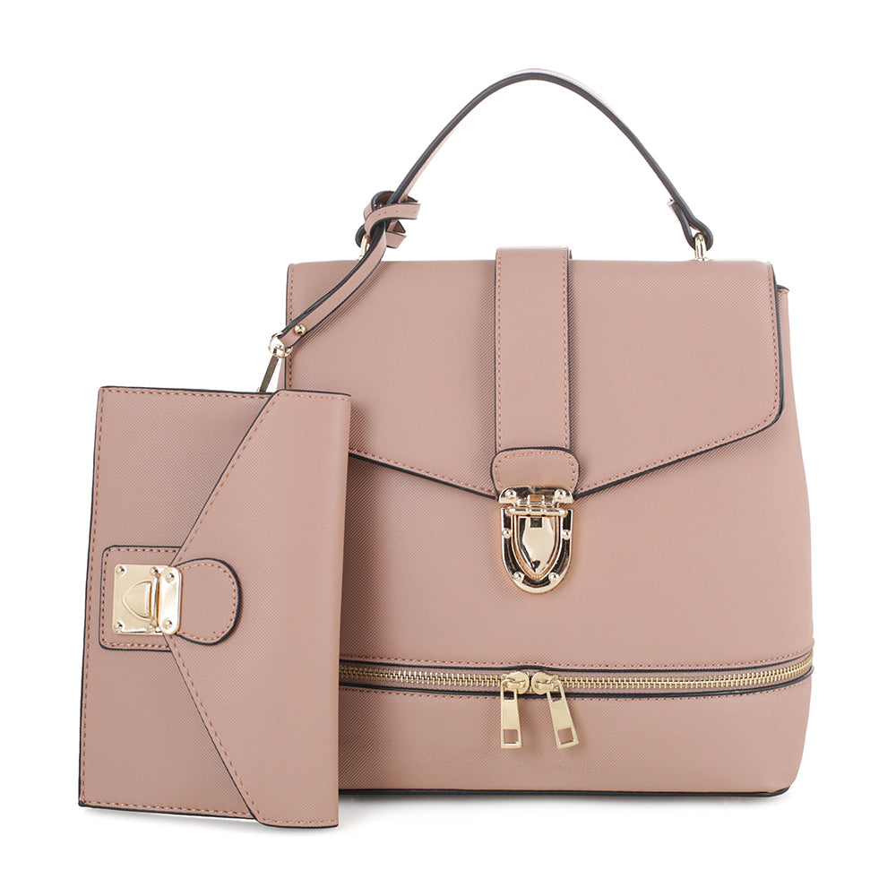 Callie Convertible Backpack with matching Wristlet