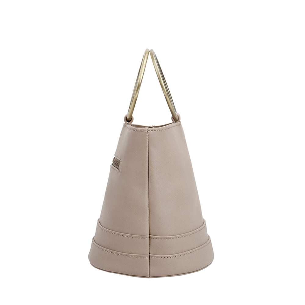 Arroyo Ring Handle Bucket Bag