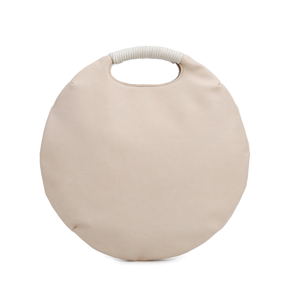 Luna Wrapped Handle Round Bag