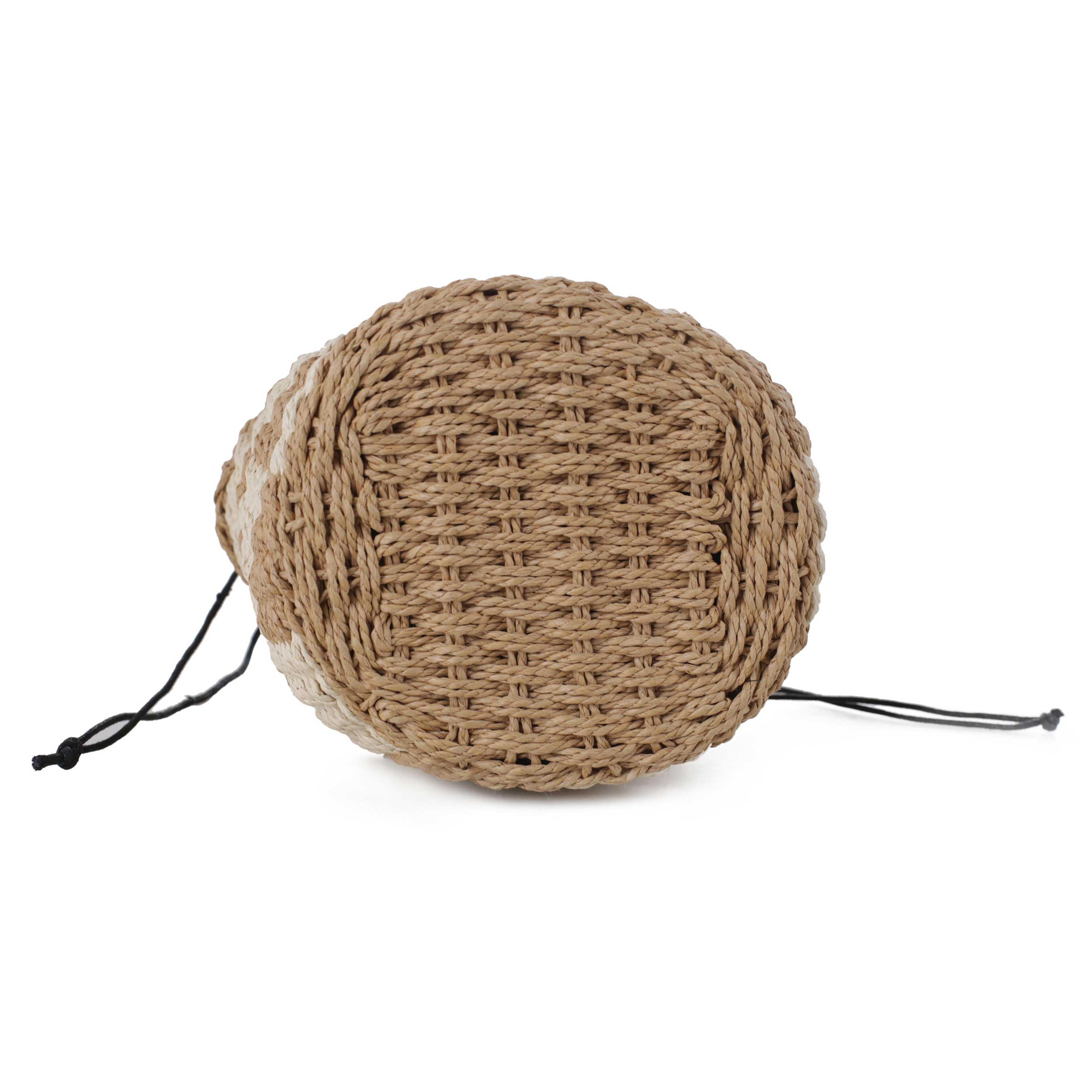 Sand Small Drawstring Bucket