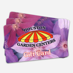 Houston Garden Centers Gift Cards