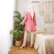 Batik - Danisa Tunik Dobby [Light Salmon]