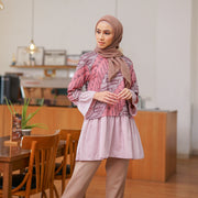 Lavani Blouse Berry-Dusty Pink