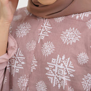 Batik - Anandita Tunik Orange Brown