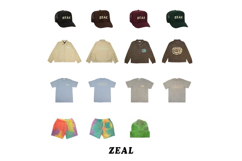 Zeal SS21 Capsule Release | Exclusively at 1032 Space